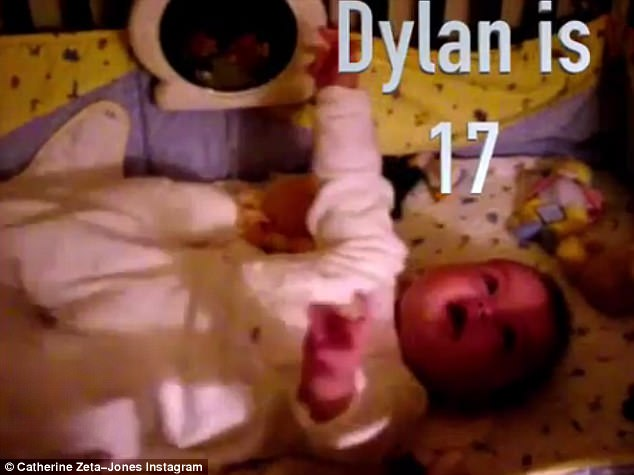 Magic montage: Catherine posted a series of videos of Dylan including this one of him in a crib