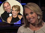 New video emerged Wednesday showing former NBC Today host Matt Lauer making a lewd comment about him leering down Katie Couric's sweater. The two are pictured above at the celebration of Lauer's 20th year at Today last January
