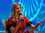 Ivanka Trump (pictured above on Wednesday) said at a women's summit that she's worried her six-year-old daughter is a little too self-assured