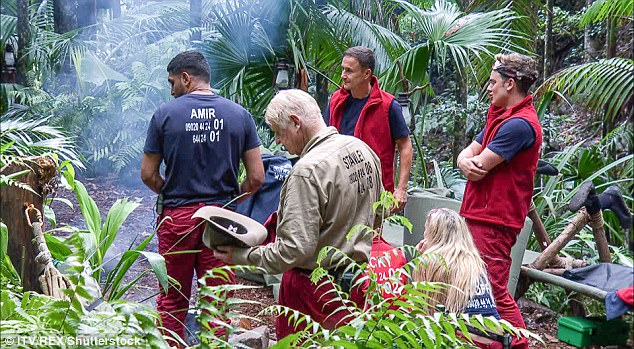 Milling around:The episode also saw the contestants get used to their outdoor surroundings in camp