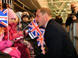 Prince William wished his brother Harry and Meghan Markle 'all the happiness in the world' after their engagement announcement earlier this week. It came as the Royal was on an official visit to Finland meeting the public at a charity ice hockey match