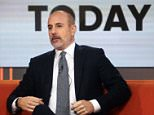Axed: Matt Lauer was dumped by NBC on Wednesday morning in reaction to sexual misconduct allegations