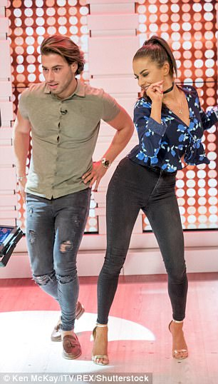Showcasing their best moves: The duo put on a fun-filled display to celebrate the Strictly Come Dancing launch