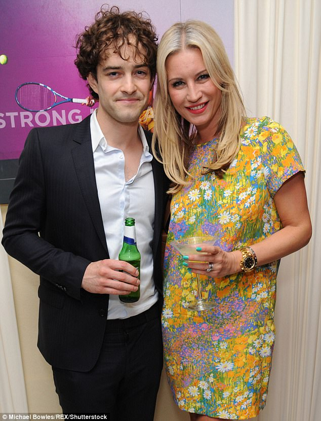 Happier times: Denise admitted she completely understood where Louise was coming from, as the ballroom show helped her realise her own marital woes with then-husband Lee Mead (L)