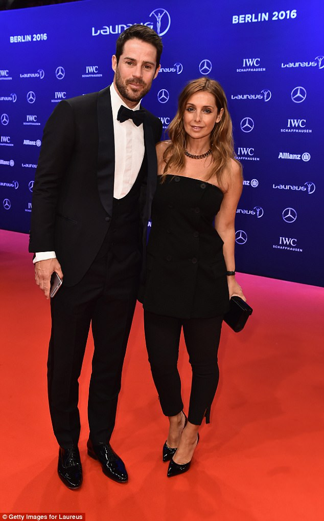 Opening her eyes: Her comments come after Louise Redknapp admitted she had felt like a 'Stepford Wife' with her husband Jamie (above), before she pursued her passion on Strictly
