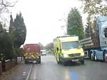 Caroline Mullineaux had been on a shopping trip with her husband Brett, 44, in Whitefield, Greater Manchester, when she spotted the Royal Mail van driving in front
