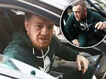 Conor McGregor arrived at court on Thursday after a judge threatened to have him arrested after he failed to show up for a morning hearing