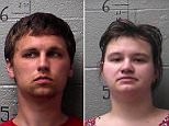 Missouri couple Derick and Mikala Boyce-Slezak, both 22, of Park Hills, are facing charges of abuse of their four-month-old son (Pictured, Mikala Boyce-Slezak)