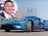 John Cena sits inside his super rare 2017 Ford GT in a video for his show 'Auto Geek'