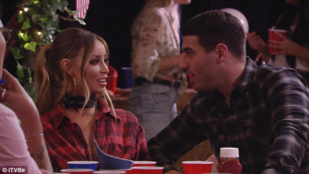 Uncertain future: TOWIE fans have seen her tentatively embark on a romance with Jon Clark, 28. And in Sunday night's episode of the ITVBe show, it is uncertain which direction Lauren Pope, 34, will take her burgeoning flame