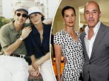 Sources have told Page Six that Annette Roque, the wife of Matt Lauer, has returned to her native Netherlands with their two youngest children. The couple is pictured in August 2017