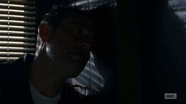 Opening up: Negan gave a confession to Gabriel while they were holed up together