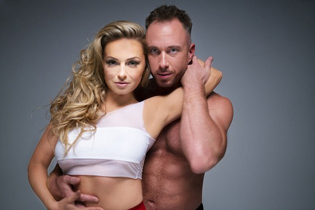 Seeing double! James Jordan and Ola Jordan posed for a racy Dirty Dancing-inspired shoot ahead of their tour