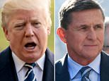 President Trump addressed Michael Flynn's admission that he lied to the FBI, tweeting on Saturday that he knew about the dishonesty and that it was why he fired him - a claim which some say now implicates him for obstructing justice