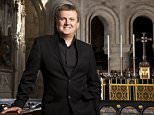 Aled Jones (pictured) has been seen doing some festive shopping in London after being axed from the BBC's Christmas episodes of Songs of Praise over sexual harassment claims