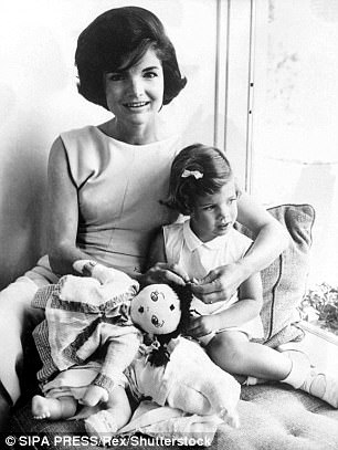 Her inspiration? Jackie Kennedy with daughter Caroline in the 1960s