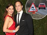 Sophie Winkleman, pictured left¿ who is married to Lord Frederick Windsor ¿ faces weeks of recuperation after suffering a suspected broken back and broken foot, according to a source close to her family