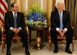 US President Donald Trump meets with Egypt's President Abdel Fattah al-Sisi in Riyadh, Saudi Arabia
