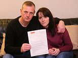 Mark Leighton (pictured) was transferring the funds from his Santander account to a joint one he shares with his girlfriend Laura Maddison (right). But he accidentally entered the wrong sort code, meaning the money never arrived