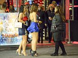 Despite temperatures dropping close to 1C this weekend, British clubbers still enjoyed a night on the town in Newcastle