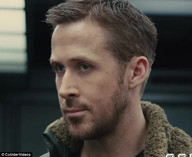 Leading man:Ryan Gosling stars in the highly-anticipated film as LAPD Officer K