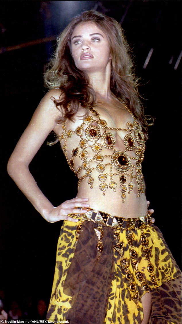 Iconic model:She shot to fame as one of the elite original supermodels in the Nineties