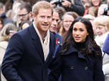 Two of Harry's previous relationships collapsed because the women could not cope with the pressure of being associated with the Prince. He is pictured with his fiance Meghan Markle
