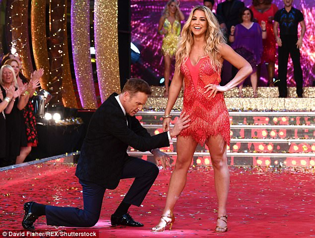 Quite the difference:After a string of acting projects since, including stints of highly successful soaps Hollyoaks and Emmerdale, Gemma is now preparing to appear on Strictly Come Dancing (pictured with fellow dancing celeb Brian Conley)