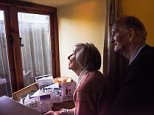 A 6ft fence installed in front of an elderly couple's window has cut out the light to their home