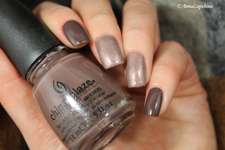 Дизайн ногтей коричневого цвета