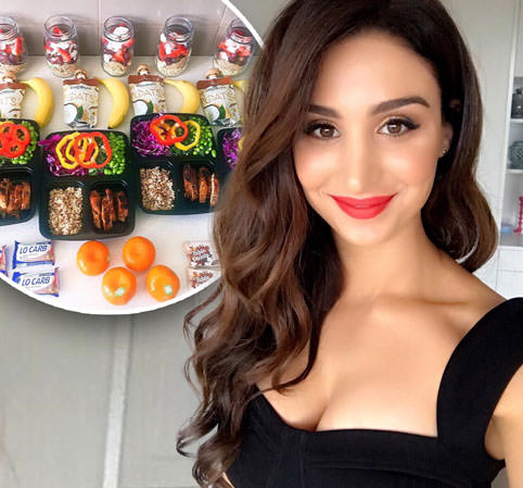 Teacher transforms her body through exercise and impressive meal prepping