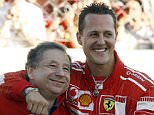 A former Ferrari boss has revealed Michael Schumacher is 'still fighting' after a ski accident left him unable to walk or speak