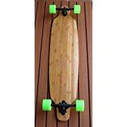 Bamboo Drop Through Thru Complete Longboard Skateboard