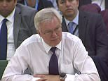The Brexit Secretary David Davis, pictured today, said quitting the Brussels club will amount to a 'paradigm change' on a level with the biggest financial slum since the Depression of the 1930s