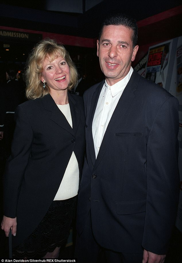 Marriage no. 2: Charles welcomed Phoebe - his only child - with his second wife Kay Saatchi, 64, in 1994
