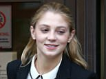 Lavinia Woodward, 24, (pictured arriving at court in September) was handed a suspended 10 month jail term - she has now applied for permission to take her case to the Court of Appeal