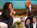 TWEAK: 5158311: Steve Harvey is sued for defrauding a charity fundraiser of $2m amid claims the TV mogul blamed Oprah and Tyler Perry for THEIR bad financial advice (live, news. moderated)