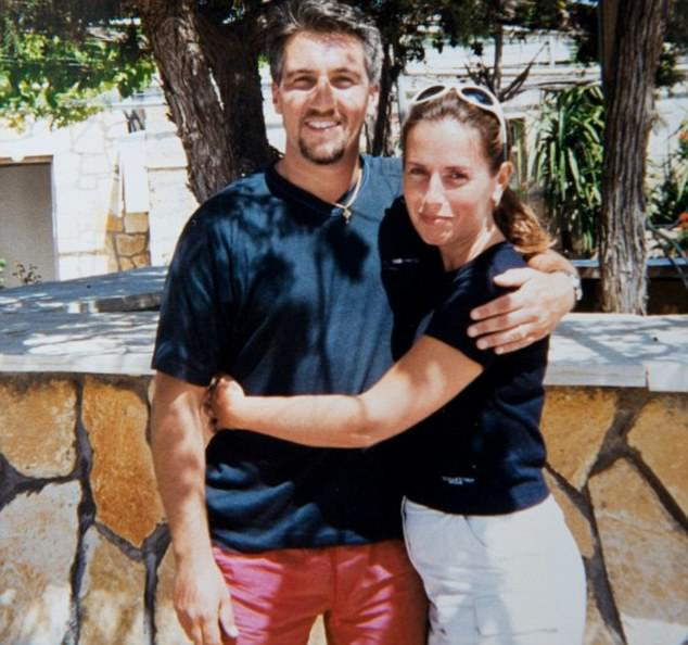 Happier times: Paul and Alexandra Hollywood are pictured on holiday