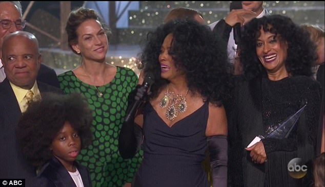 Talent: Diana received the lifetime achievement award at the American Music Awards