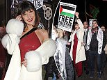Supermodel Bella Hadid joined protests in London against President Trump's decision to officially recognise Jerusalem as the capital of Israel