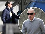 Matt Lauer was seen on Friday walking around the New York village of Sag Harbor, picking up groceries. He was not wearing his wedding band. His wife left him after several women accused him of sexual harassment