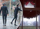 The  snow flurries didn't dissuade  Ivanka Trump as she and husband, Jared Kushner, embarked on their weekly couples jog on Saturday