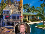 Rock legend Sammy Hagar is selling two homes including a massive French chateau-inspired property in Lake Arroqhead, California, for a hefty $5.9million