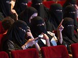 Saudi women attend a rare cinema screening at a film festival in Riyadh in October 2017. Saudi Arabia on Monday announced a lifting of the kingdom's decades-long ban on cinemas