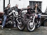 Female members of the Hells Angels in Los Angeles, pictured, in 1973 have been brought back to life after being expertly colourised by Irish photographerMatt Loughrey