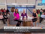 A trio of the president's accusers reemerged on Monday to hound him for sexually harassing them. Samantha Holvey (center) Jessica Leeds (right) and Rachel Crooks (left) had previously made allegations against Trump in last year's election and appeared on Megyn Kelly 'Today' to demand justice