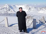 North Korean leader Kim Jong-un visited Mt. Paektu on Friday, a sign that suggests he may be planning a significant act in the near future. Such visits to the mystical mountain often precede important decisions by North Korean leaders