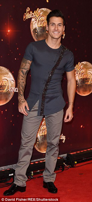 Man of the hour: Gorka Marquez is partnered with Alexandra and is said to be dating Gemma