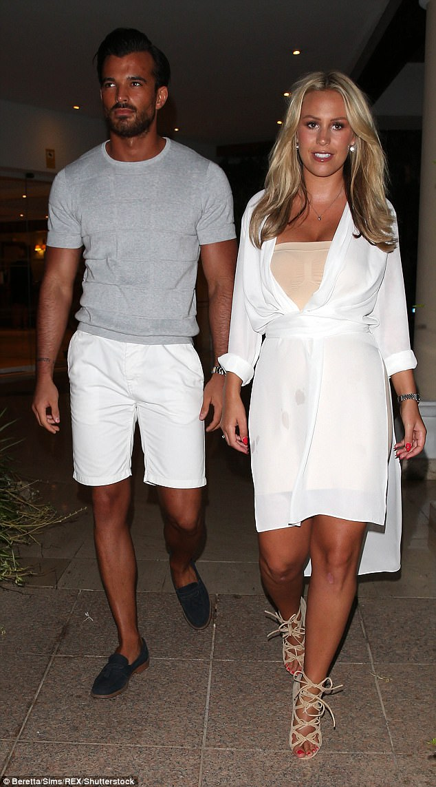 Weighing in:Now Mike has claimed it is not only Kate - who was previously in a romance with TOWIE's Dan Edgar - meeting the family, but the footballer has also met the Wrights as he 'wants to make sure they're apart of each other's lives'