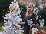 Stephanie Browne, 27, was devastated after being told to take down the 6ft plastic tree from the final resting place of her son Oskar, who died in 2010